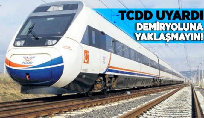TCDD'DEN İLAÇLAMA UYARISI