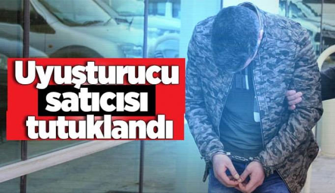 Uyuşturucu sattığı iddia edilen şüpheli tutuklandı