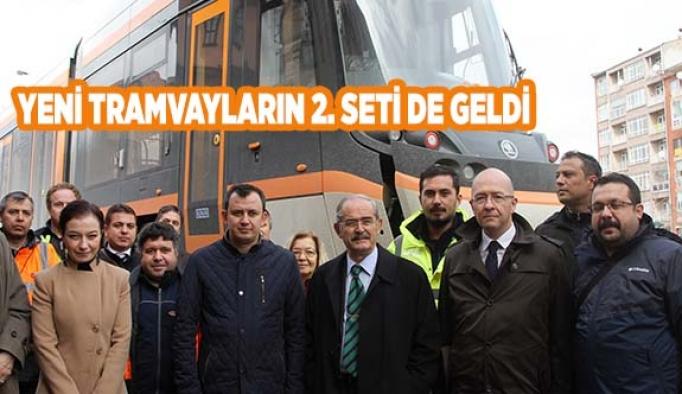 YENİ TRAMVAYLARIN 2. SETİ DE GELDİ