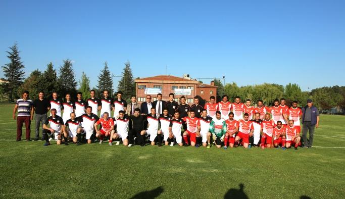 Belediye çalışanları futbol turnuvası başladı