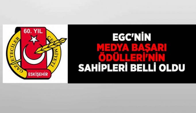 EGC'nin Medya Başarı Ödülleri'nin sahipleri belirlendi