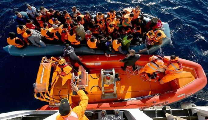 Ege'de 3 ayda 4 bin 214 göçmen yakalandı