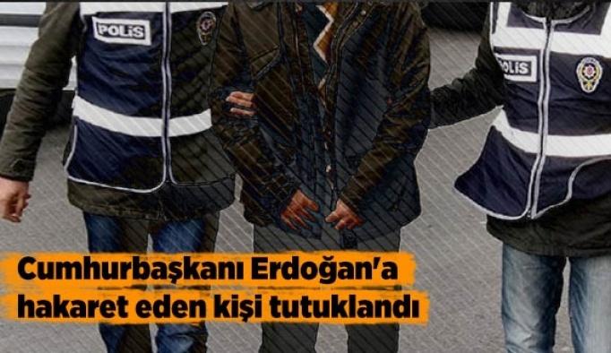 Eskişehir'de bir kişi Cumhurbaşkanı'na hakaretten tutuklandı