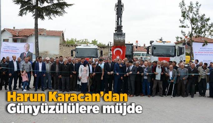 Harun Karacan'dan, Günyüzülülere müjde