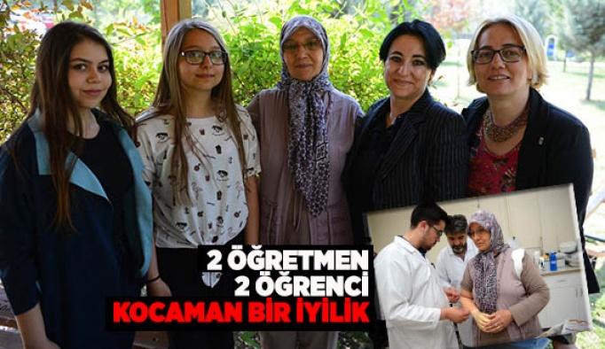 """KAMPANYALARIYLA YAŞLI KADININ """"ELİ"""" OLDULAR"""