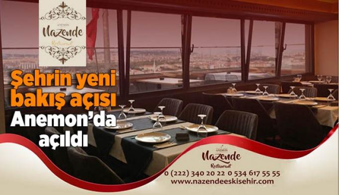 Nazende Restourant Anemon Otel'de açıldı