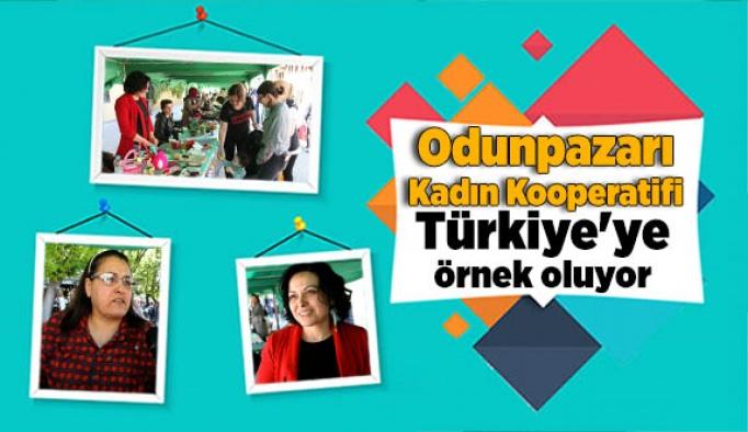 Odunpazarı Kadın Kooperatifi Türkiye'ye örnek oluyor