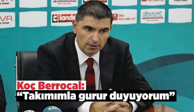 Berrocal: Takımımla gurur duyuyorum