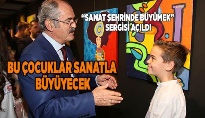 """Büyükerşen, """"Eskişehir'i bir sanat şehri yapmak beni memnun ediyor"""""""