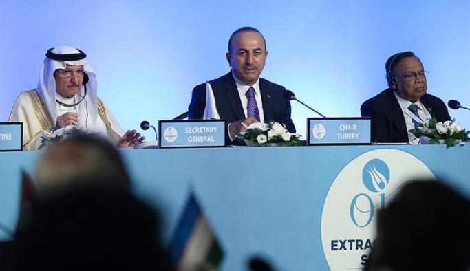 Çavuşoğlu: Kudüs'ün tarihi statüsünün değiştirilmesine izin vermeyeceğiz