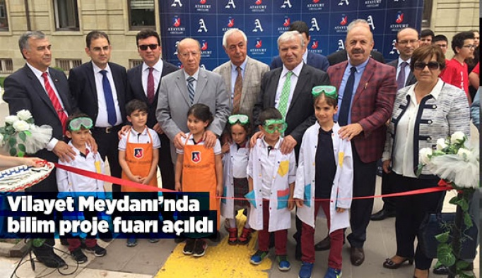 Eskişehir'de bilim proje fuarı açıldı