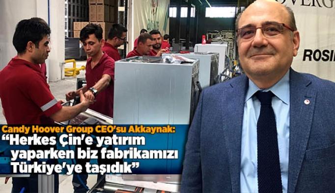 Herkes Çin'e yatırım yaparken biz fabrikamızı oradan Türkiye'ye taşıdık