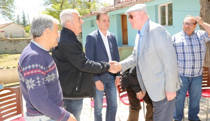 Kazım Kurt köylerde vatandaşla buluşmaya devam ediyor