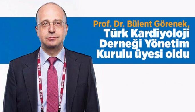 Prof. Dr. Görenek, Türk Kardiyoloji Derneği Yönetim Kurulu üyesi oldu