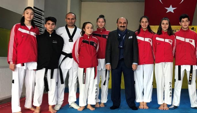 Sararspor sporcuları Milli Takım kampında