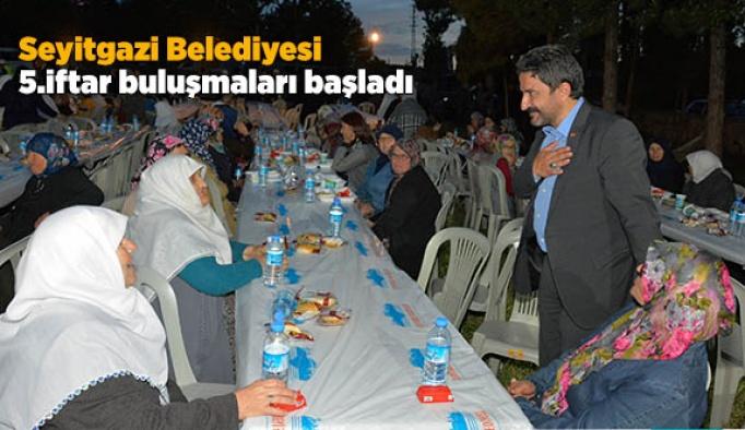 Seyitgazi 5.iftar buluşmaları başladı