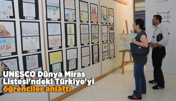 UNESCO Dünya Miras Listesi'ndeki Türkiye'yi öğrenciler anlattı