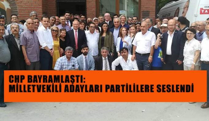 Eskişehir CHP İl Örgütü bayramlaştı