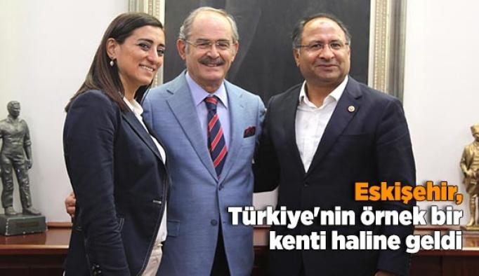 Eskişehir, Türkiye'nin örnek bir kenti haline geldi