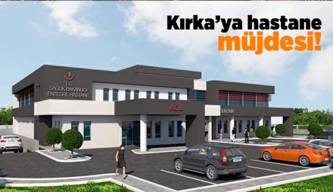 GÜNAY'IN DESTEKLERİYLE KIRKA'YA HASTANE YAPILIYOR