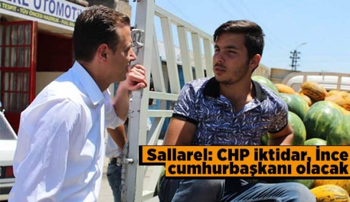 Sallarel, Sanayi Sitesi'nde esnafın bayramını kutladı
