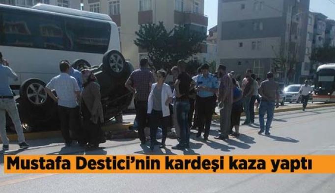Halil Nural Destici Trafik kazası geçirdi