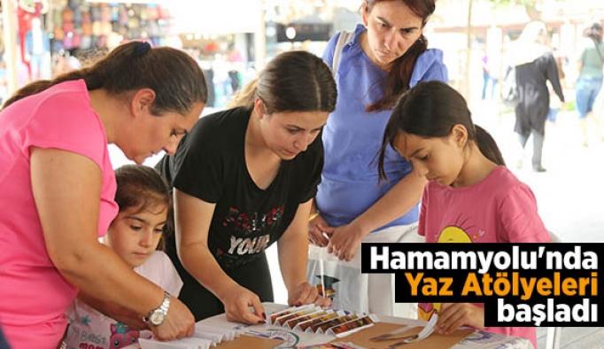 Hamamyolu'nda Yaz Atölyeleri başladı