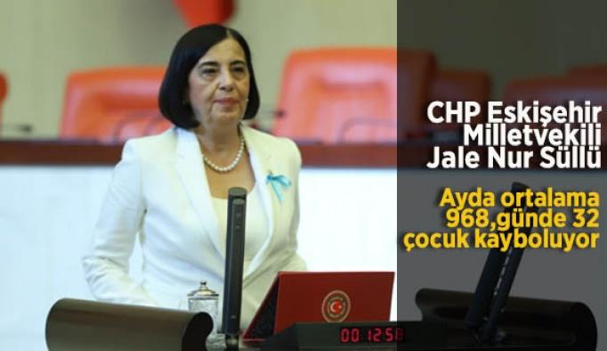 """Jale Nur Süllü """"Ayda ortalama 968, günde 32 çocuk kayboluyor"""""""