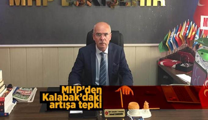 MHP'den Kalabak'daki su artışına tepki