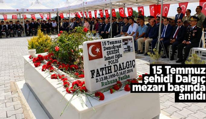 Şehit Polis Dalgıç mezarı başında anıldı