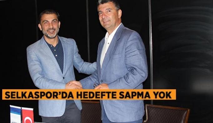 SELKASPOR'DA HEDEFTE SAPMA YOK!