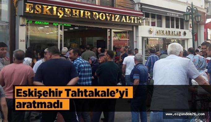 Eskişehir Tahtakale'yi aratmadı