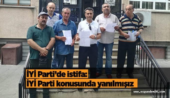 İYİ Parti Eskişehir İl Teşkilatı'nda  istifa