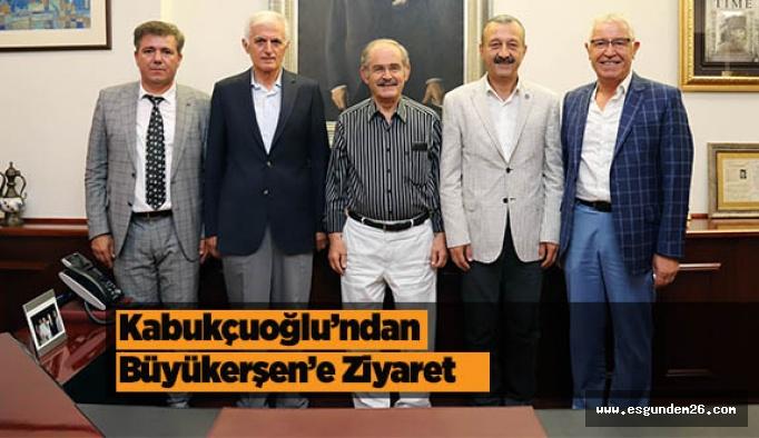Kabukçuoğlu'ndan Büyükerşen'e Ziyaret