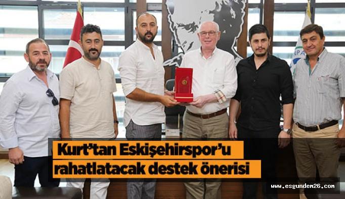 Kurt'tan Eskişehirspor'a iki önemli destek sözü