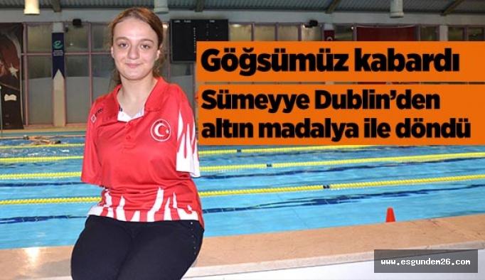 Sümeyye Avrupa Şampiyonu