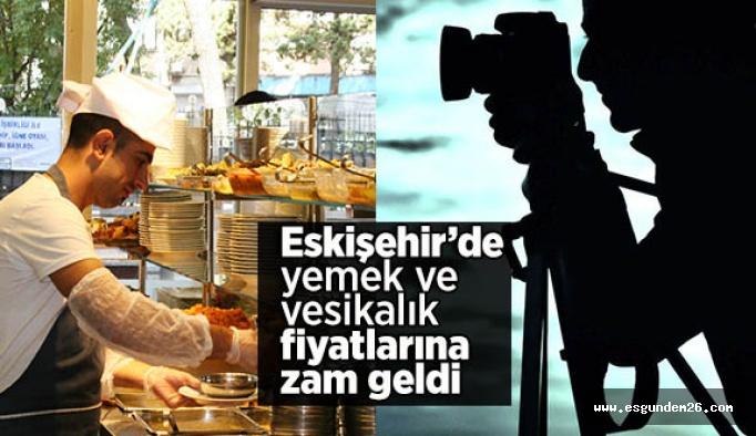 Dışarıda yemek yemenin ve fotoğraf çektirmenin fiyatı arttı