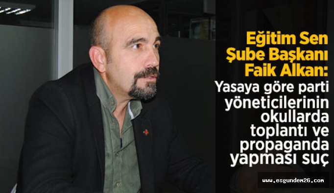 Eğitim-Sen'den, AK Parti ziyaretine tepki