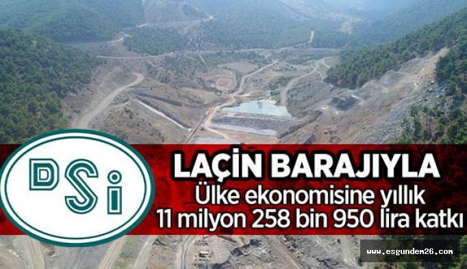 Laçin Barajı verimli toprakları suyla buluşturacak