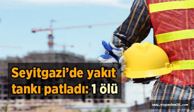 Seyitgazi'de şantiyede iş kazası: 1 ölü