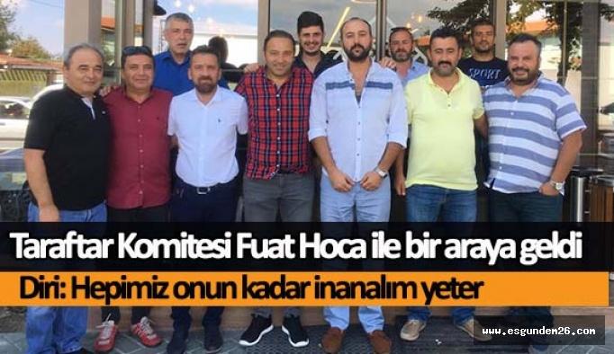 Taraftar Komitesi Fuat Hoca ile bir araya geldi