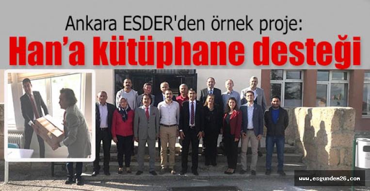 Ankara ESDER'den örnek proje