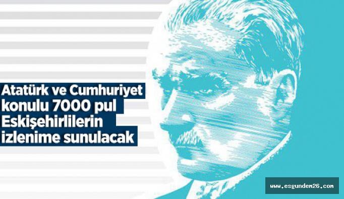 Atatürk ve Cumhuriyet pulları görücüye çıkıyor