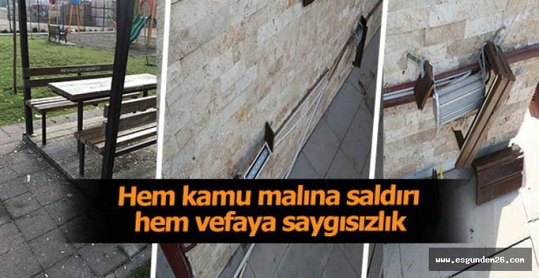 Aydın Arat Halk Merkezi'ne çirkin saldırı