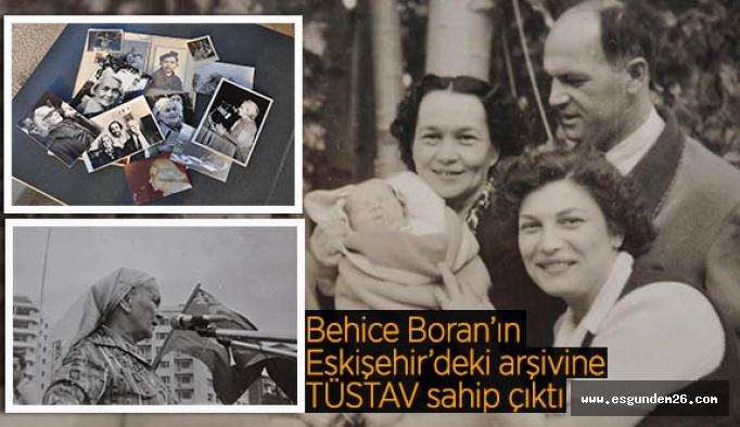 Behice Boran'ın Eskişehir'deki arşivine TÜSTAV sahip çıktı