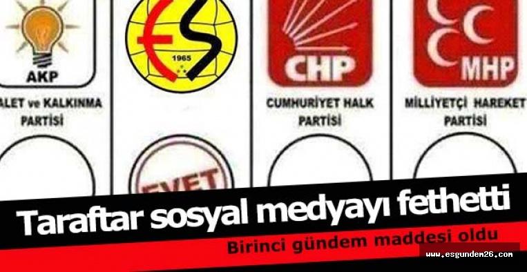 BENİM OYUM ESKİŞEHİRSPOR'A
