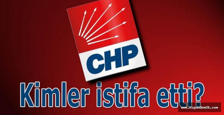 CHP'de istifa süreci sona erdi