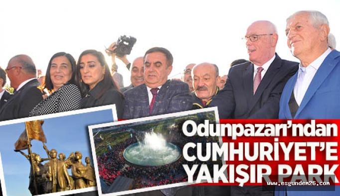 CUMHURİYET KENTİNE, CUMHURİYET PARKI