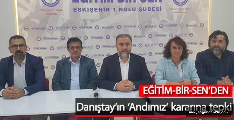Eğitim-Bir-Sen: Eski Türkiye'nin hortlatılmasına geçit verilmemeli