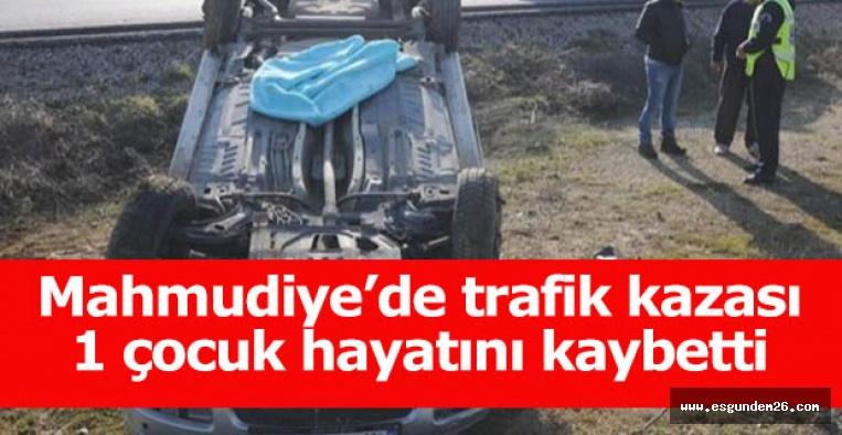 Eskişehir'de otomobil devrildi: 1 kişi hayatını kaybetti, 2 yaralı